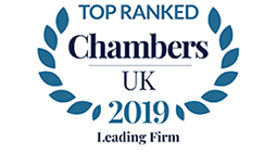 Chambers UK 2019 - Leading Firm