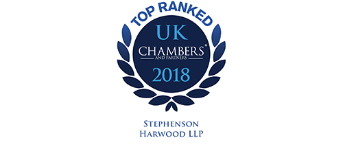 Chambers UK 2018 - Top ranked