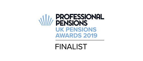 Professional Pensions UK Awards 2019 - Finalist