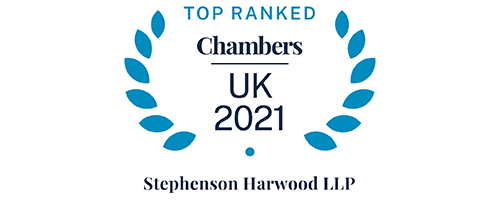Chambers UK 2021 - Top ranked